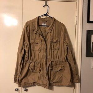 Army-style jacket